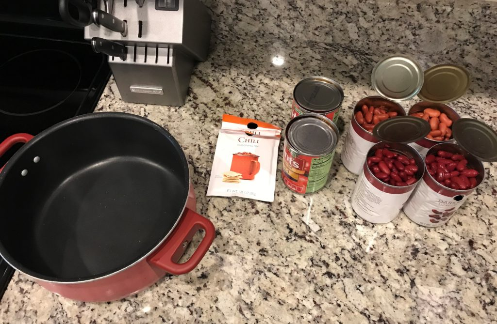 TheSumbayHome.com - Quick and easy homemade chili recipe