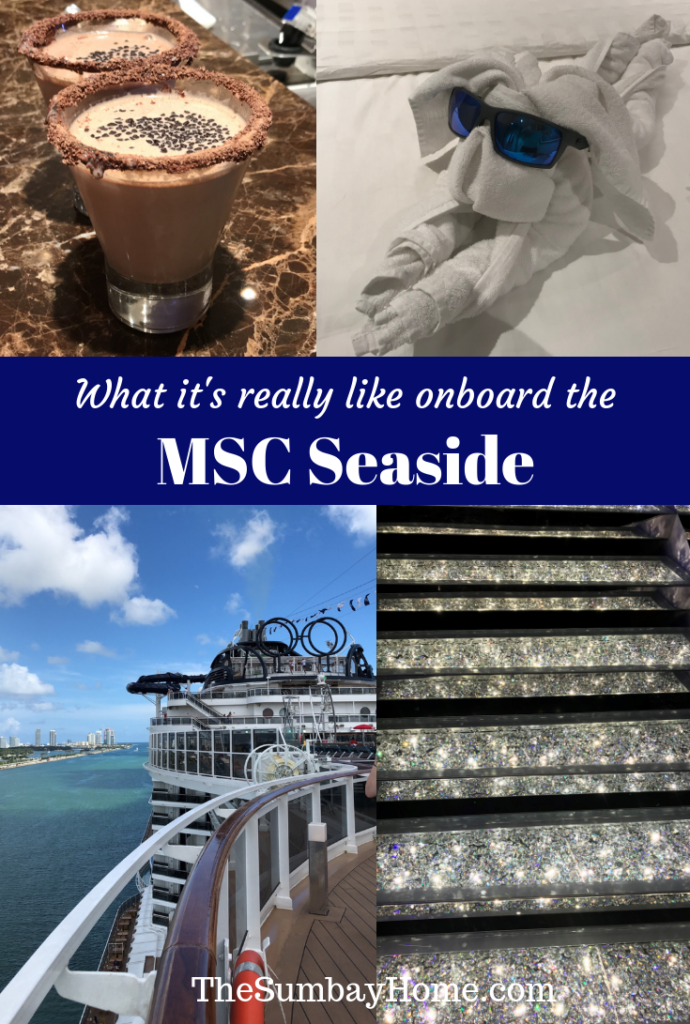 What it's really like onboard the MSC Seaside TheSumbayHome.com