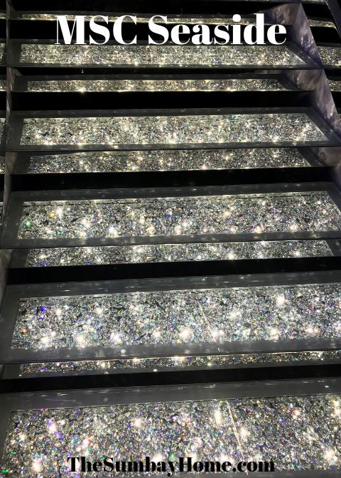 TheSumbayHome.com MSC Seaside Crystal Staircase