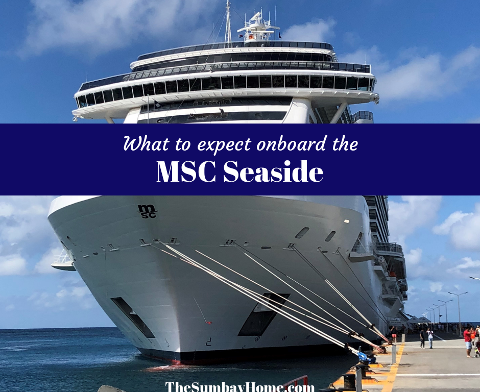 What it's like onboard the MSC Seaside