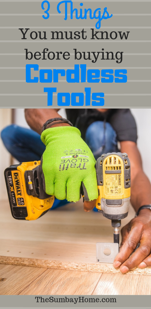 Cordless Drill - 3 Tips You Need To Know Before Making A Pruchase - TheSumbayHome.com